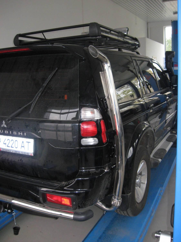 Багажник на крышу своими руками на mitsubishi pajero